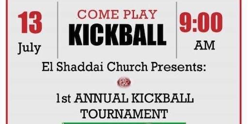 Kickball Tournament 2019