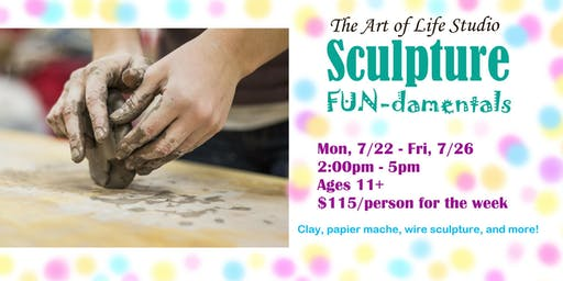 Art Camp: Sculpture FUN-damentals