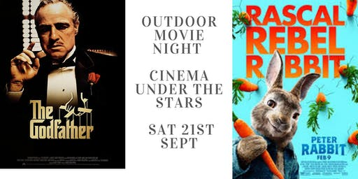 Garden movie night- Cinema under the stars