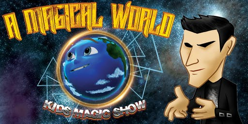 'A Magical World' Kid's Magic Show With Drace Illusionist