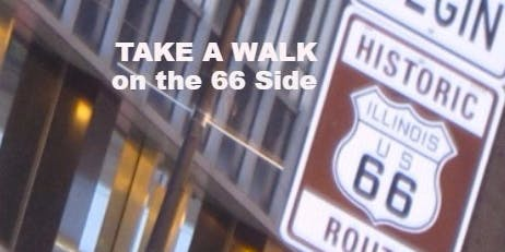 TAKE A WALK on the 66 Side || Get Your Kicks Touring Chicago's Route 66 !