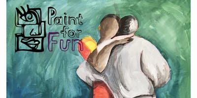 The Dance of Love - Dine in Painting Class at Elwood Beach