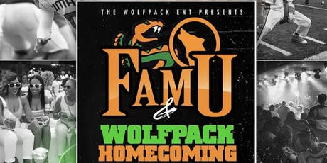 WOLFPACK FAMU HOMECOMING WEEK Sept. 30 - Oct. 6  2k19 tickets