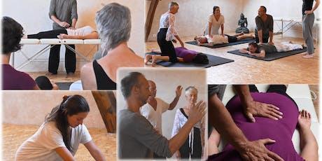Shiatsu massage and Pranic Healing Certified Course billets