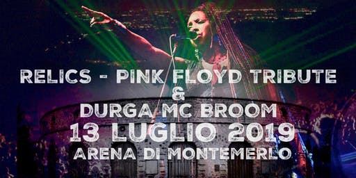 RELICS - PINK FLOYD TRIBUTE & DURGA MC BROOM