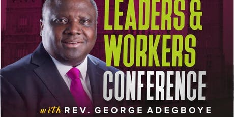 Europe Ministers, Leaders & Workers Conference 2019 tickets