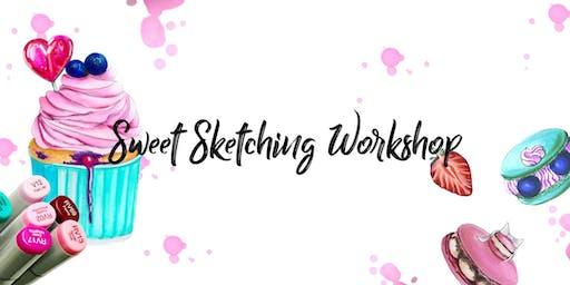 """""""Sweet Sketching"""" Illustration Workshop"""