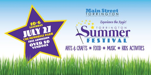 July 27 Torrington Summer Festival