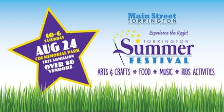 August 24 Torrington Summer Festival tickets