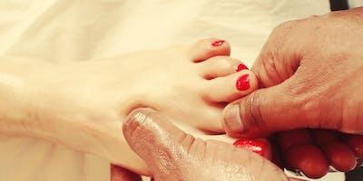 Kansa Vatki Foot Massage