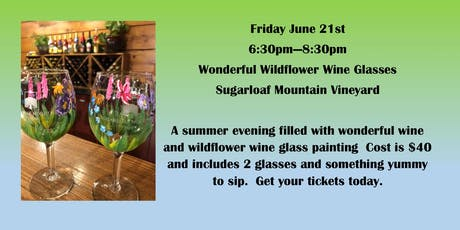 Wildflowers and Wine tickets