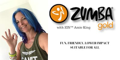 Wednesday - 10 am - 11 am - Zumba Gold® with ZIN™ Amie King - Almondsbury Creative, Almondsbury