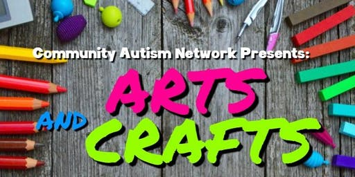 Arts & Crafts With Community Autism Network