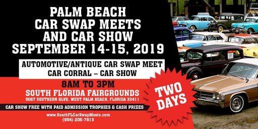 Palm Beach Car Swap and Car Show Meets Returns September 14-15 West Palm Beach