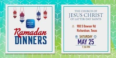 2019 Ramadan Dinner at The Church of Jesus Christ of Latter-day Saints - Richardson