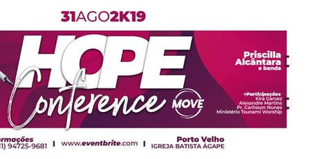Hope Conference  + MOVE ingressos