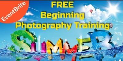 FREE Beginners Photography Training