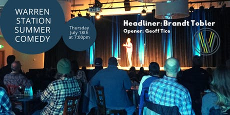 Summer Comedy Series with Brandt Tobler tickets