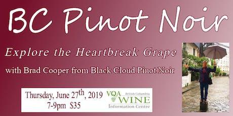 BC Pinot Noir tickets