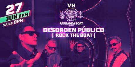 Desorden Publico Rock the Boat New York tickets