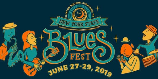 NYS Blues Festival VIP Tent Tickets June 27 - 29