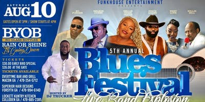 THE 5TH ANNUAL BLUES FESTIVAL CULLODEN GEORGIA