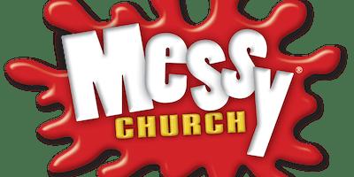Messy Church at Christchurch January 2020