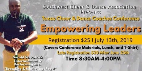 Texas Cheer & Dance Coaches Conference tickets