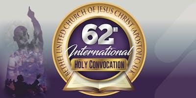 BUCJCUK 62nd International Holy Convocation 2019