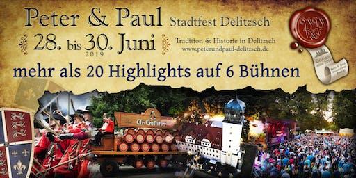Peter & Paul Stadtfest Delitzsch 2019