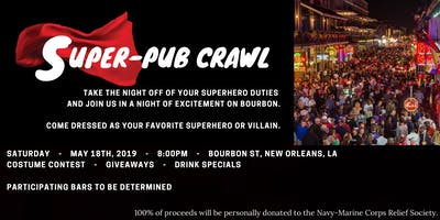Super-Pub Crawl - New Orleans