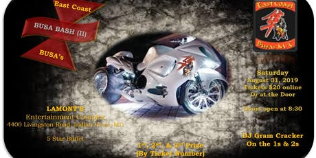 ECB - BUSA BASH II tickets