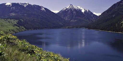 IN A LANDSCAPE: Wallowa Lake State Park 4pm Thu, 9/19