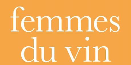Femmes du Vin Trade-Day tickets