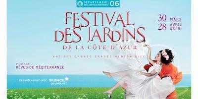 Festival des Jardins de la Côte d'Azur « Rêves de Méditerranée » GRATUIT