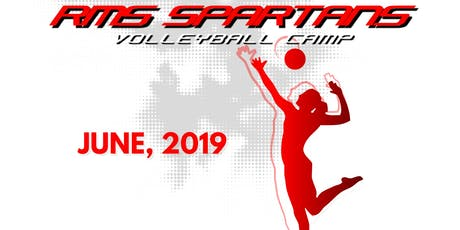 RMS Spartans Volleyball Camp (2019-2020 grades 7-8) tickets