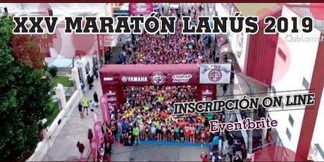 XXV Maratón Lanús 2019 tickets