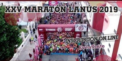 XXV Maratón Lanús 2019
