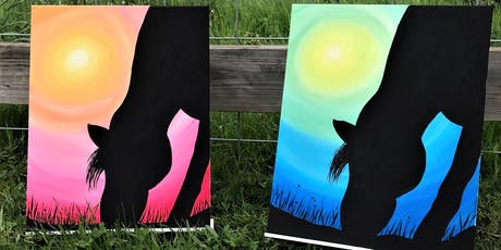 Horse Canvas Paint Party! tickets
