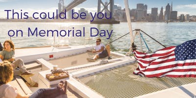 Memorial Day On The Bay - Cruising Charter Experience - May 27, 2019