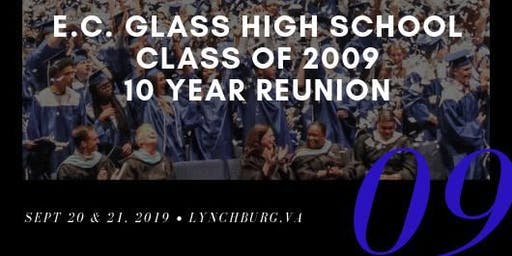 E.C. Glass High School Class of 2009 || 10 Year Reunion