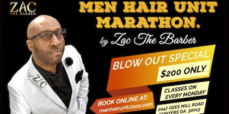 Men Hair Unit Marathon  tickets