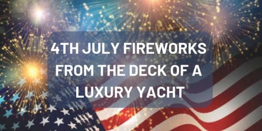 4th Of July Fireworks Party! Private Boat Rentals