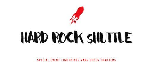 Bus to Hard Rock Stadium - University of Miami & Virginia Fan Bus