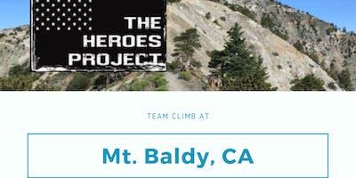 Climb for Heroes - Cal Alumni Team