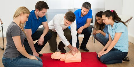 First Aid and CPR Training tickets
