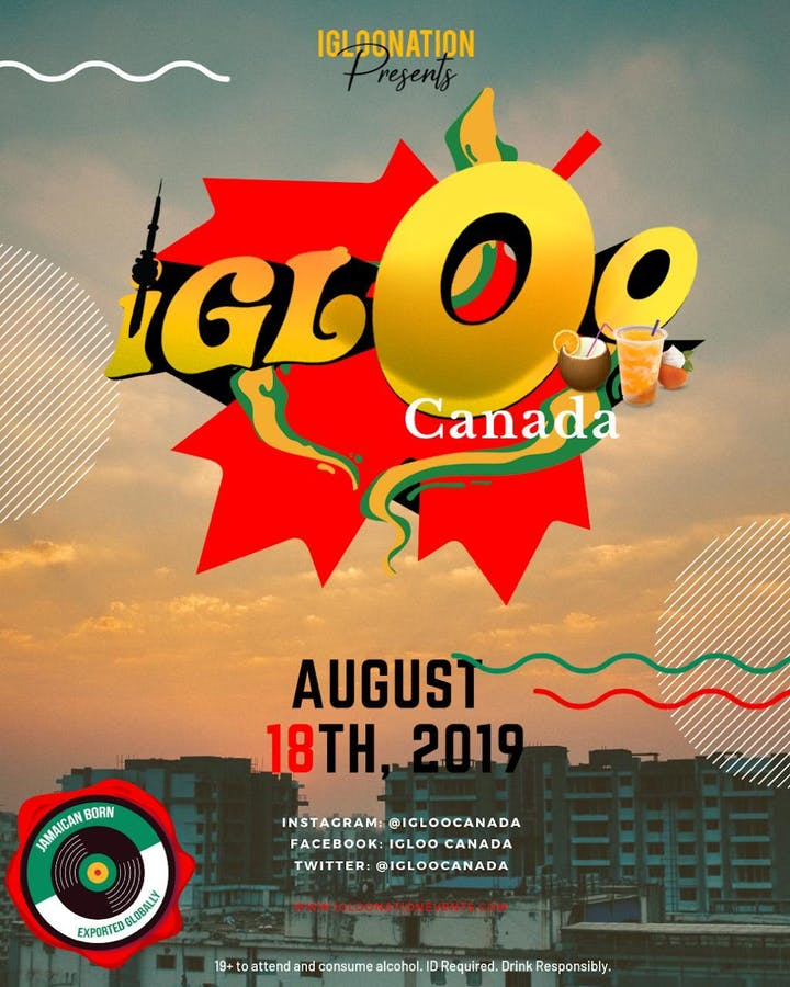 IGLOOCANADA Tickets, Sun, 18 Aug 2019 at 3:00 PM | Eventbrite