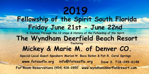 Fellowship of the Spirit South Florida 2019