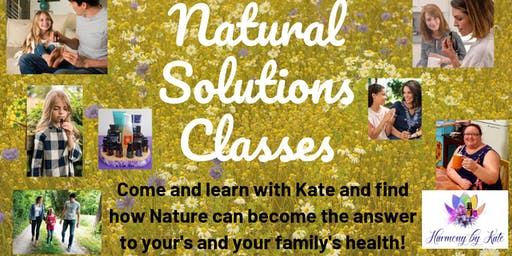 Natural Solutions Class with dōTERRA Essential Oils