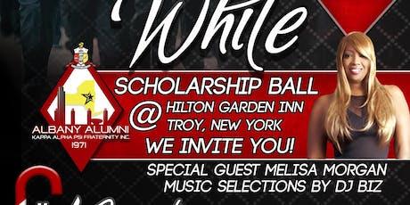 2019 Black and White Scholarship Ball featuring R&B Artist Meli'sa Morgan tickets